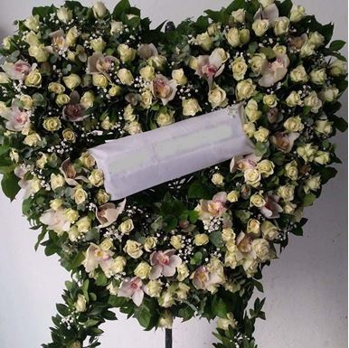 Στεφάνι Κηδείας 016