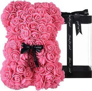 Εικόνα της Rose Bear Dark Pink Μεσαίο