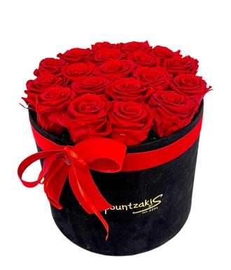 Μαύρο Κουτί Forever Roses Κόκκινο