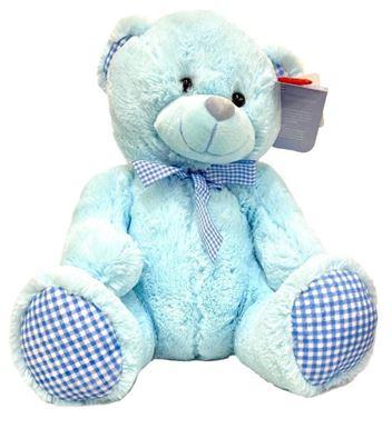 Λούτρινο Αρκουδάκι Μπλε