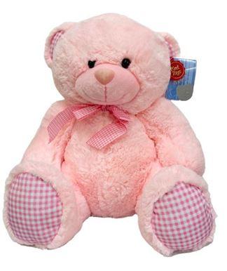 Λούτρινο Αρκουδάκι Ροζ