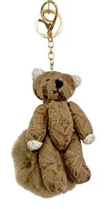 Picture of Teddy Bear Squirrel Key Chain
