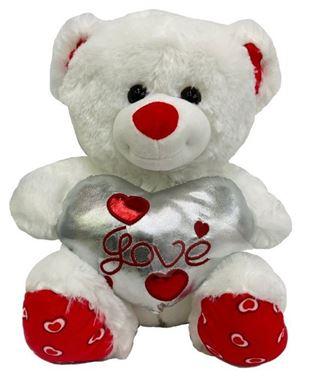 Λούτρινο Αρκουδάκι Καρδιά Love