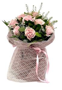 Εικόνα της Μπουκέτο Ροζ Τριαντάφυλλα